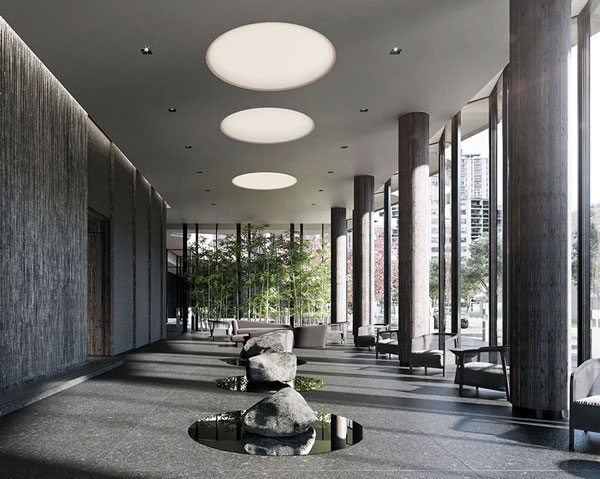 untitled toronto condos at yonge and eglinton lobby design