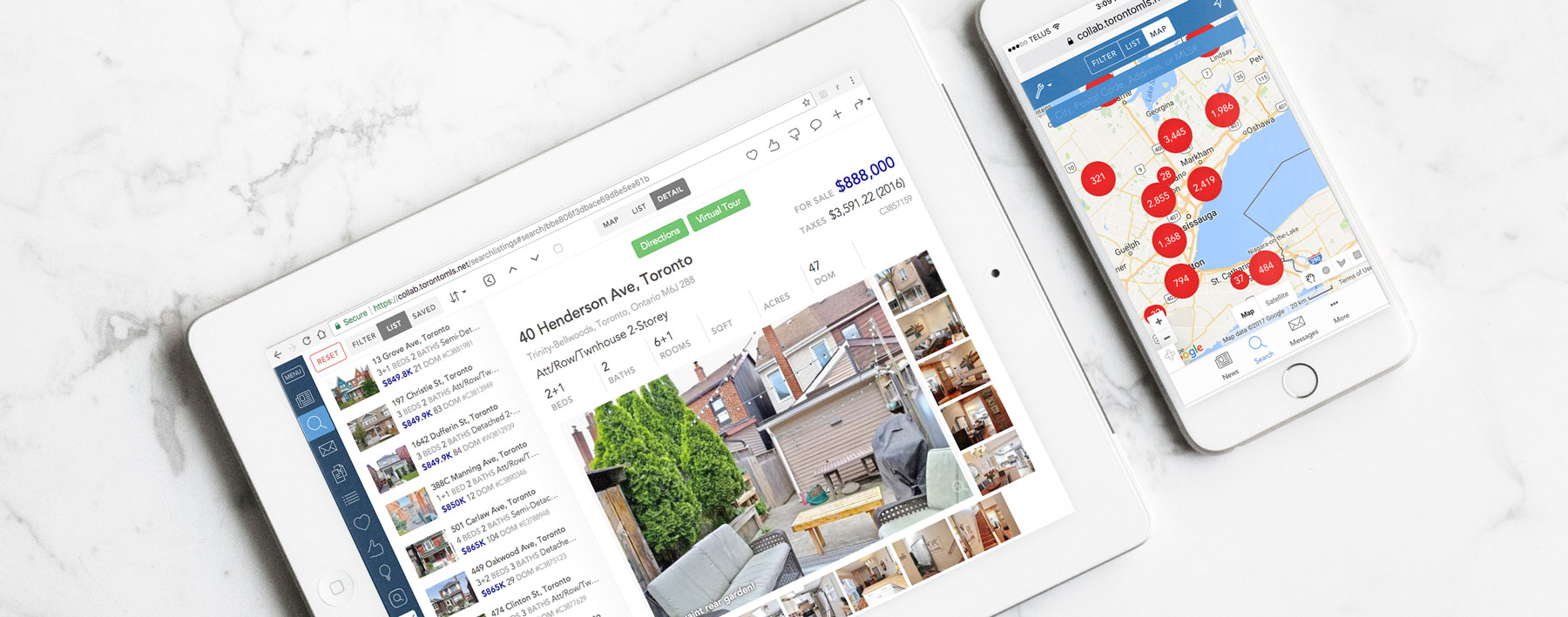 best real estate search tool app