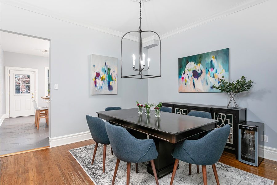 Staging After Dining Room