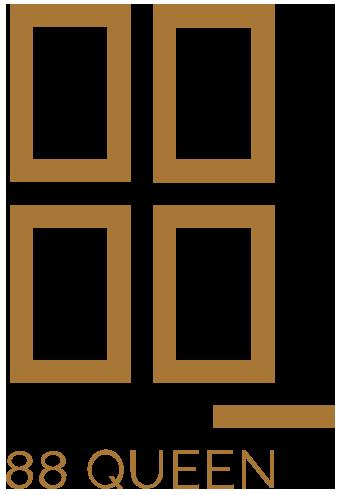 88 Queen Condos logo