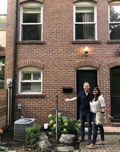 Rebecca's first-time home buyers