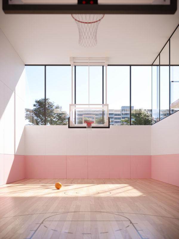untitled toronto condos basketball court