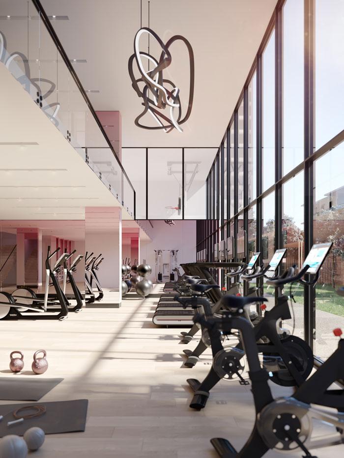 untitled toronto condos fitness centre