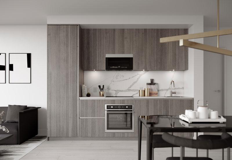 untitled toronto condos kitchen