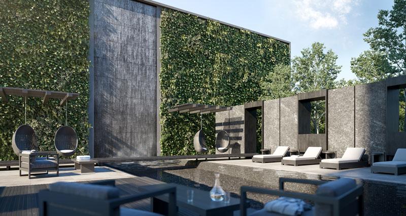untitled toronto condos outdoor pool