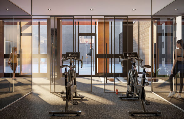 No55 Mercer Condos fitness