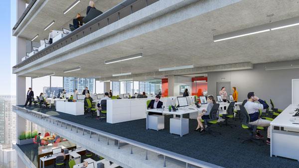 google office toronto interior