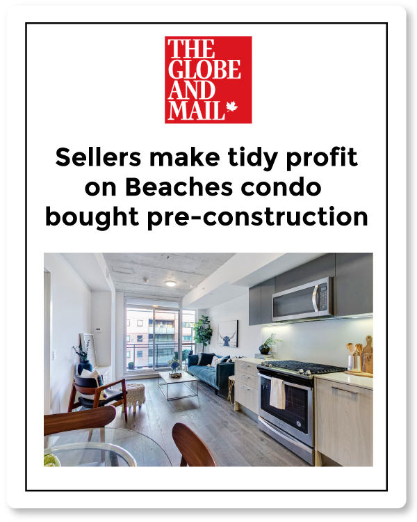 globe article kingston condo sale