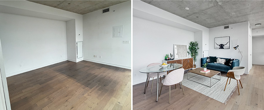 Before and After Home Staging in Toronto | Pierre Carapetian Group