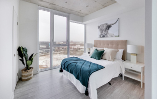 Bedroom Home Staging Example in Toronto | Pierre Carapetian Group