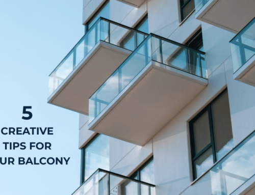 5 CREATIVE TIPS FOR YOUR BALCONY