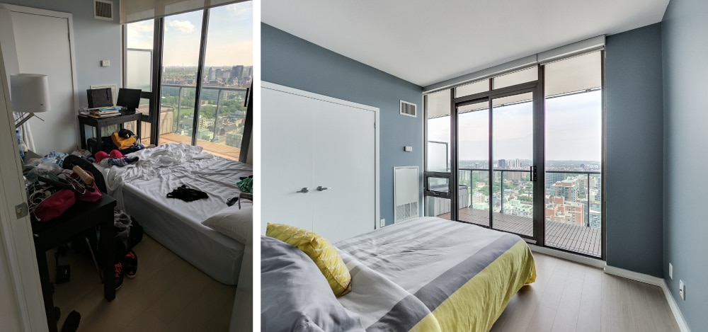 Before & After Images of Lombard Street Condos Toronto