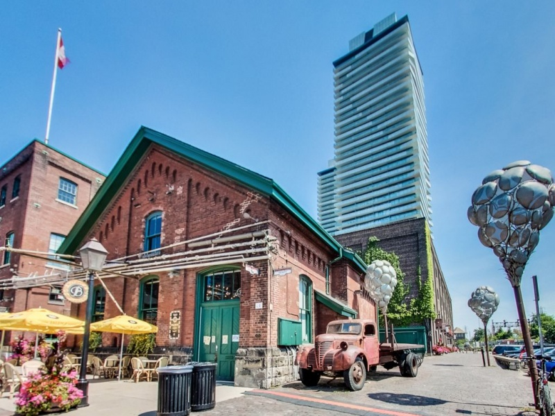 70 Distillery, Toronto, Canada, 1 Bedroom Bedrooms, ,1 BathroomBathrooms,Condo,Sold,Clear Spirit,Distillery,36,1113