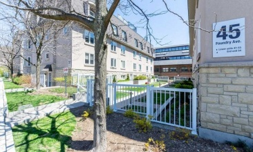 45 Foundry Ave, Toronto, Canada, 3 Bedrooms Bedrooms, ,2 BathroomsBathrooms,Condo,Purchased,Foundry Ave,1210