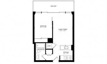 Broadview 90, Toronto, Canada, 1 Bedroom Bedrooms, ,1 BathroomBathrooms,Condo,Sold,The Ninety,90,5,1249