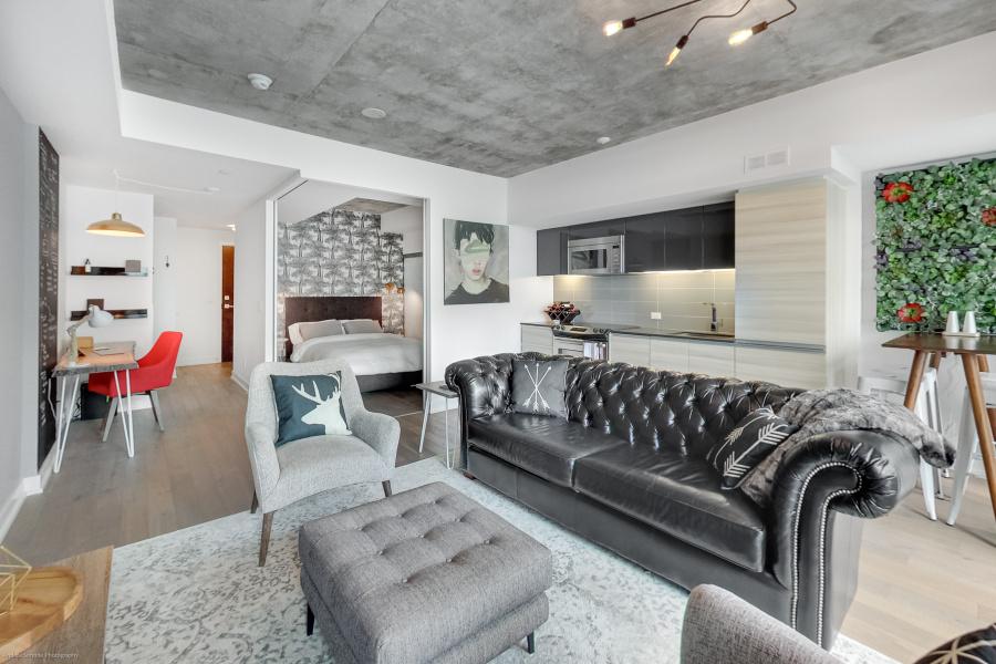 1190 Dundas, Toronto, Canada, 1 Bedroom Bedrooms, ,1 BathroomBathrooms,Condo,Sold,The Carlaw,Dundas,1250