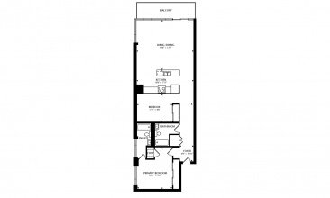 138 Princess St, Toronto, Canada, 2 Bedrooms Bedrooms, ,2 BathroomsBathrooms,Condo,Sold,138 Princess St,1263