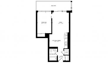 25 Baseball Pl, Toronto, Canada, 1 Bedroom Bedrooms, ,1 BathroomBathrooms,Condo,Sold,Baseball Pl,1305,1282